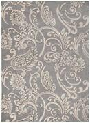 Gabrielle Gray Area Rug 5x8 Or 8x10 With Free Shipping