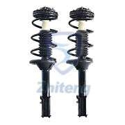Front 2 Complete Quick Strut And Coil Spring Assembly Fit For Audi A4 Quattro