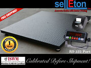 Floor Scale / Pallet Size 48 X 48 With Indicator And Printer 1000 Lbs X .2 Lb