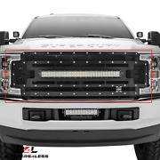 T-rex 6315471 Torch Series Main Grille W/led Light Bar For 17-18 F-250/f-350 Sd