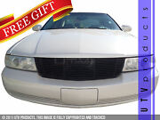 Gtg 1998 - 2004 Cadillac Seville 1pc Replacement Gloss Black Billet Grille Grill