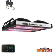 California Lightworks Solarsystem 1100 Led Grow Light + Clw Controller New