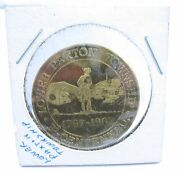 1967 Lower Paxton Township Dauphin Co Pa Bicentennial 50 Cents Token Mock Coin