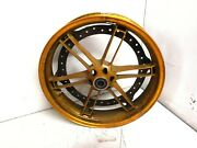 Pair Wheel Front+rear Gold Buell Xb12