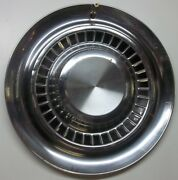 Vintage 15 Inch Hubcap Wheel Cover Need Help To Identify Stainless Steel