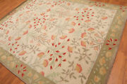 100 Authentic Traditional 8x10 Botanical Wool Area Rugs Ad09 Carpet Edh