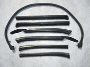 1966 1967 Gm A Body Convertible Roof Rail Weatherstrips | Pair | Free Shipping