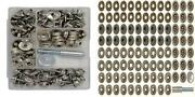 Canvas And Upholstery Boat Cover Snap Button Fastener Kit W/installation...