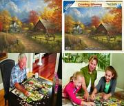 White Mountain Puzzles Country Blessing - 1000 Piece Jigsaw Puzzle