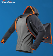 Menand039s Hoody Jacket Outdoor Sun Clothes Fishing Anti Uv Quick Dry Longsleeve Mask