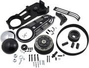 Belt Drives 2in. Belt Drive Kit With Changeable Domes Black - Ev-700b