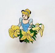 Disney Auctions P.i.n.s. - Cinderella Among Flowers Pin Le 1000