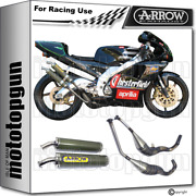 Arrow Full System Exhaust Race Made With Kevlar Aprilia Rs 250 Challenge 2001 01