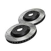 Dba Club Spec 4000 Front Slotted Brake Rotor Pair For 05+ Toyota 4runner