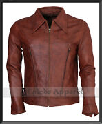 Xmen Wolverine Days Of Future Past Logan Biker Real Leather Jacket - All Sizes