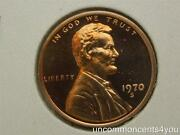 1970-s Lincoln Penny Gem Bu Small Date Prred Proof Cam Cameo Fs 1402