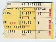 Paul Mccartney And Wings / 1976 Ticket Stub / Concert Photo And Guitar Pick