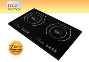 Cooktop True Induction Ti-2b Double Burner Cook Top Counter Inset Model Ti2b