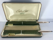 Cross 14k Gold Filled His And Hers Classic Century Ballpoint Pens Made In Usa