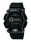 Casio G-shock Military Menand039s Chronograph Black Resin 47mm Watch Dw9052-1ccg