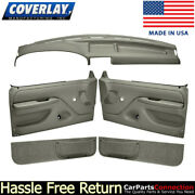Coverlay Door Panel Dash Cover Taupe Gray 12-115c92n-tgr Manual Lock And Window
