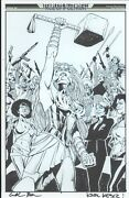 Fearless Defenders Page 20 Full Page Karl Kesel Thor Original Comic Book Art