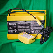 New Peg Perego - 24 Volt Battery And Charger Combo Pack Iakb0522