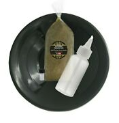 Gold Panning Kit Beginnerand039s Package- 1/2lb Paydirt 8in Gold Pan Snifter And Vial