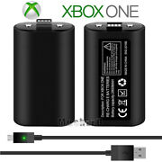 For Xbox One Play And Charge Kit - Rechargeable Battery Pack And Charging Cable