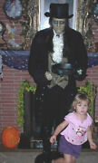 Animated Talking 6 Foot Jeeves The Edwarldian Butler Halloween Prop Sold As-is