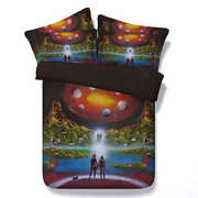 View Star River 3d Printing Duvet Quilt Doona Covers Pillow Case Bedding Sets