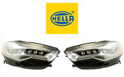 New Audi Pair Set Of Left And Right Led Headlights Hella