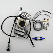 Carburetor For Mikuni Hsr45 45mm Harley Evo Twin Cam With Choke Cable Cnc Filter