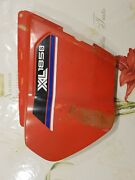 Genuine Used Honda Xl185 Right Side Cover Xl125s Side Panel Xr185 Xr125 1979-82
