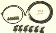 1934-1955 Plymouth 6 Cylinder Sparkplug Wires And Everdry Spark Plug Boots