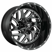 Fuel Triton D581 22x14 6x135/6x139.7 Offset -75 Black And Milled Quantity Of 4