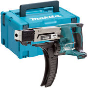 Makita Dfr550z 18v Lxt Auto Feed Drywall Collated Screwdriver Body + Makpac Case