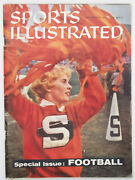 1960 Sports Illustrated No Label College Football Preview 130 Teams Ole Miss Afl