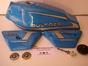 Bultaco Alpina 187 Gas Tank + Side Panels Bultaco Alpina 187 - 188 New