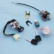 New Wire Key Ignition Switch Lock Set For 125cc 150cc 250cc Scooter Moped