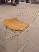 6 X Mint Classic Knoll Harry Bertoia Children's Chairs, Orig Owner Make An Offer