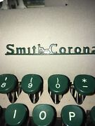 1954 Smith Corona Sterling Typewriter - Superb Condition.