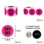 300 Labels - 50 Off Stickers For Yard Garage Sale Retail Store Clearance...