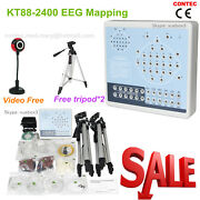 Eeg Machine Kt88-2400 Digital 24-channel Eeg And Mapping System+2 Tripods Contec