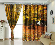 High Benches Jungle 3d Curtains Blockout Photo Printing Curtains Drape Fabric