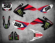 Custom Graphics Full Kit To Fit Honda Crf 50 2004 - 2012 Surge Style Stickers