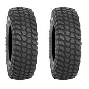 Pair Of System 3 Xcr350 8ply Radial Dot Atv Tires [32x10-15] 2