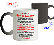 Coffee Mug Birthday Gift For Daughter From Dad Iand039ll Always Be With You Love Dad