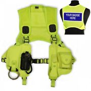 Protec Overt High Vis Police Security And Close Protection Equipment Harness