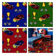 Start Your Engine | Custom Area Rug Made-to-order Home And School Sizes And Shapes